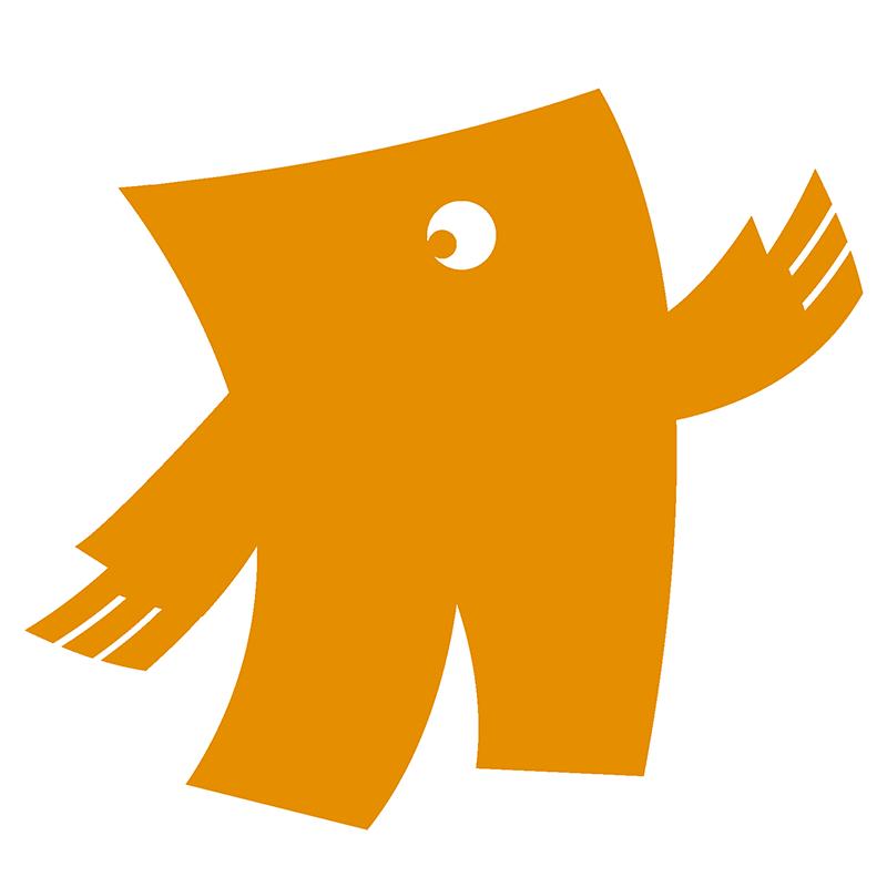 Oranje in drukwerk